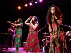 A-WA performing at the Cedar Cultural Center, Sept. 18, 2016